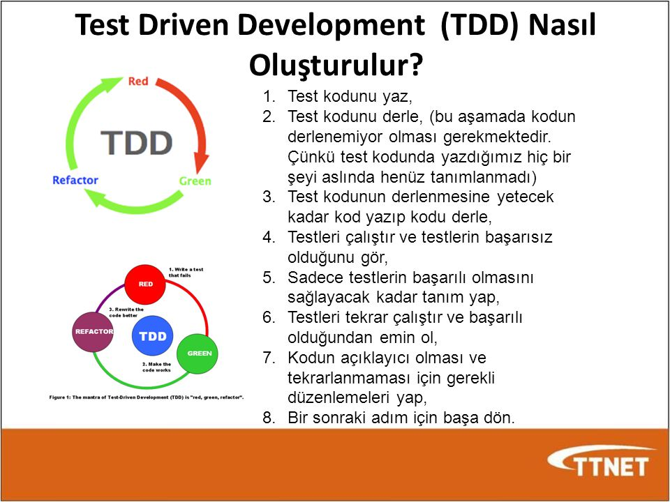 Test Driven Development (TDD) Nasıl Oluşturulur