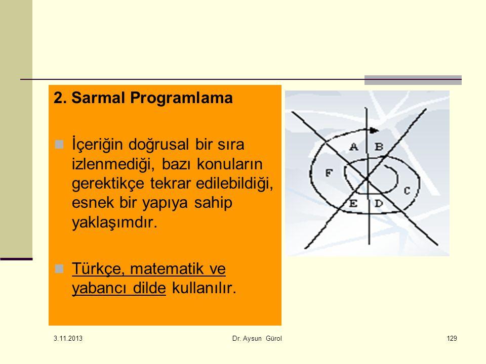 Türkçe, matematik ve yabancı dilde kullanılır.