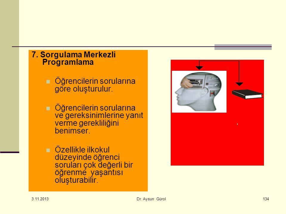 7. Sorgulama Merkezli Programlama