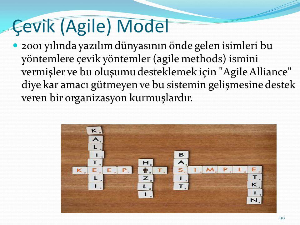 Çevik (Agile) Model
