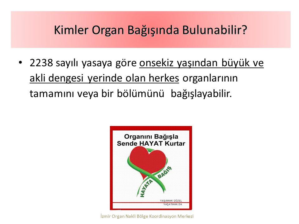 Kimler Organ Bağışında Bulunabilir