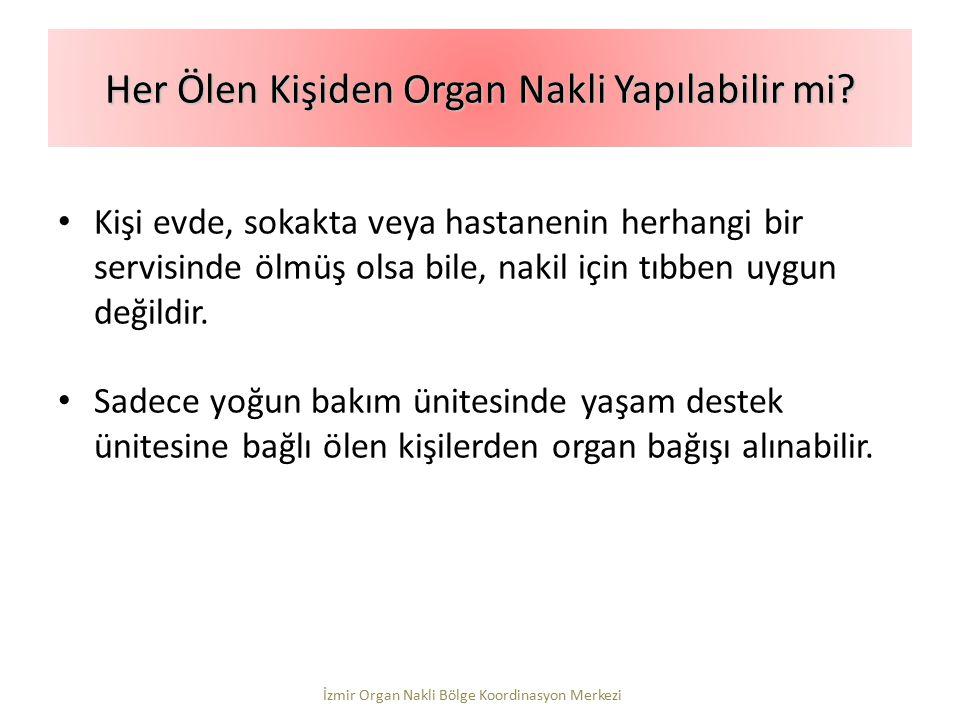 Her Ölen Kişiden Organ Nakli Yapılabilir mi