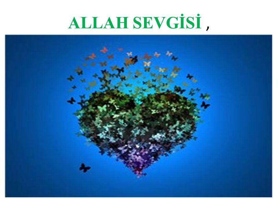 ALLAH SEVGİSİ ,