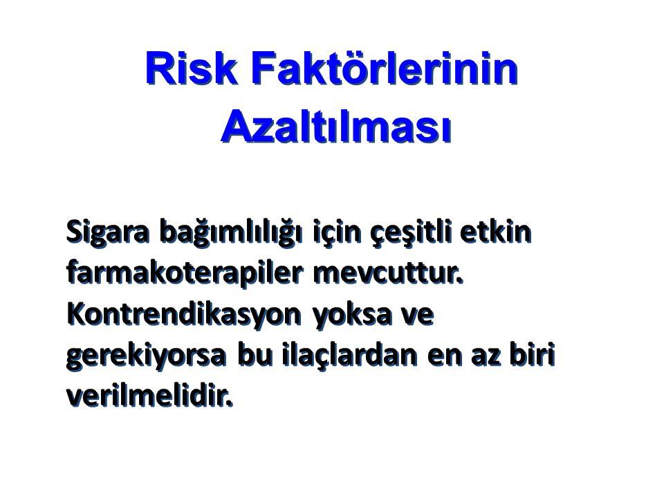 Risk Faktörlerinin Azaltılması