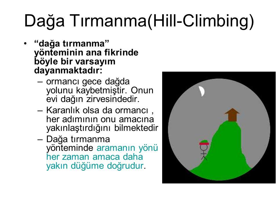 Dağa Tırmanma(Hill-Climbing)