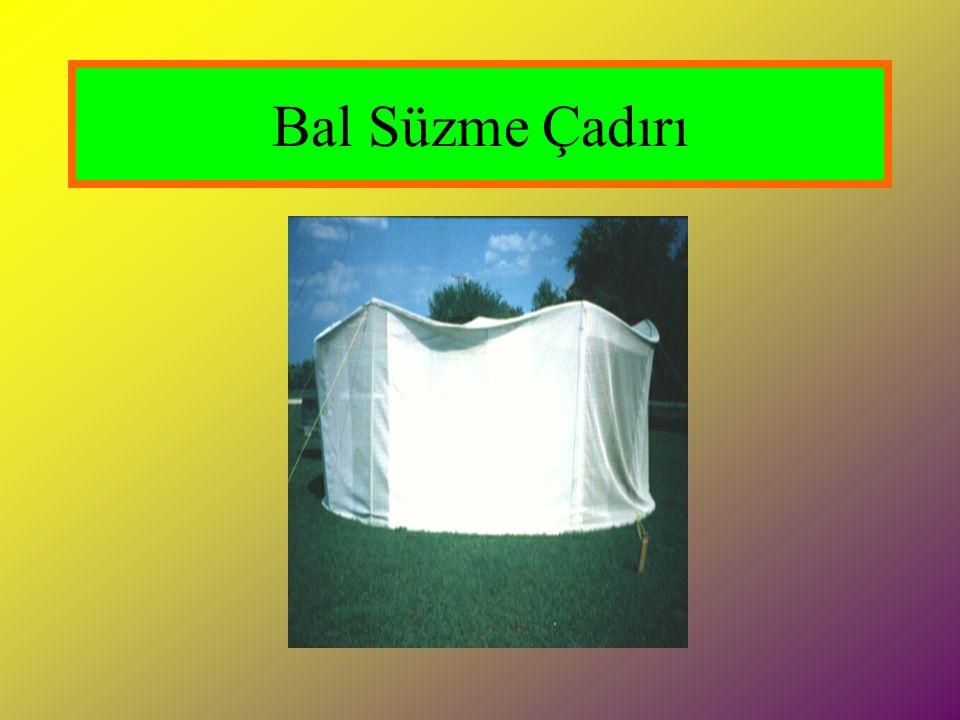 Bal Süzme Çadırı
