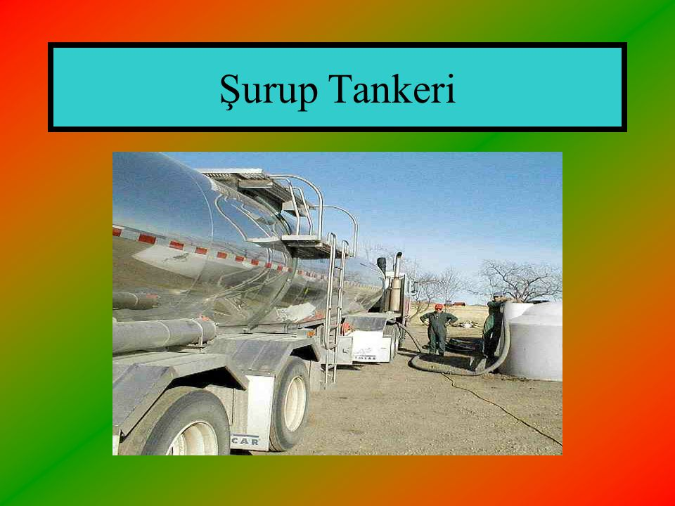 Şurup Tankeri