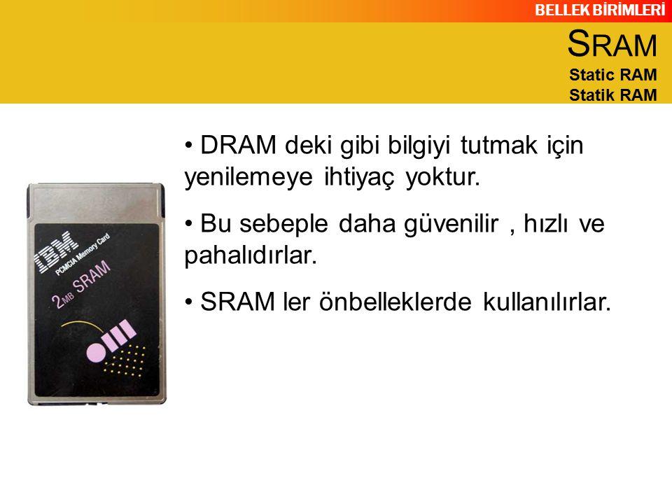 SRAM Static RAM Statik RAM