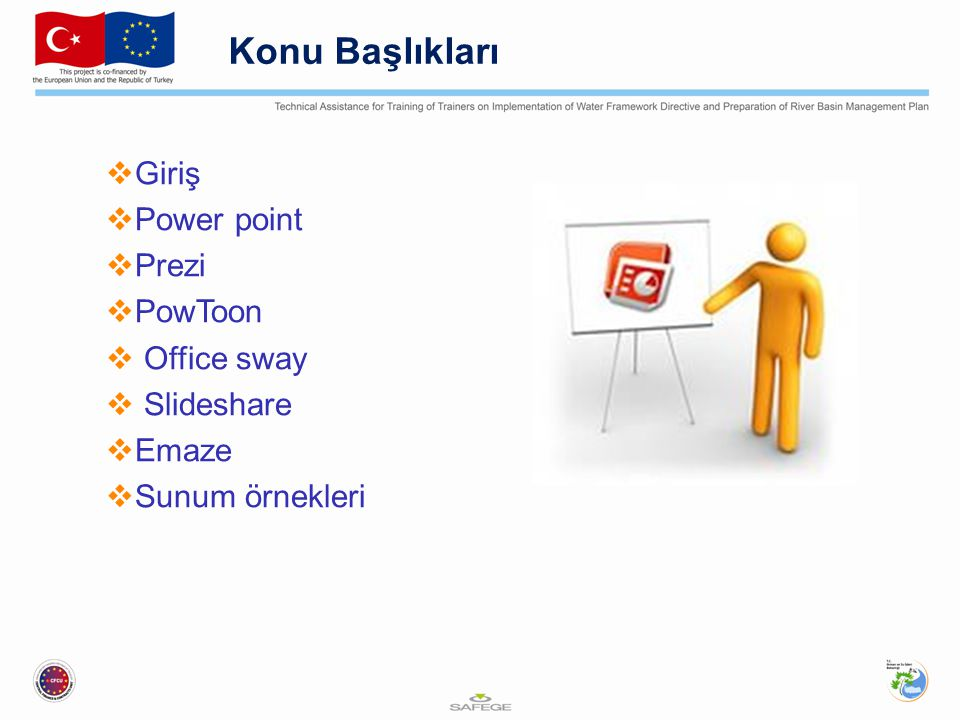 Konu Başlıkları Giriş Power point Prezi PowToon Office sway Slideshare
