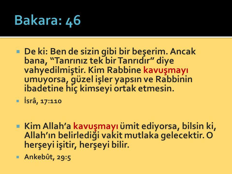 Bakara: 46