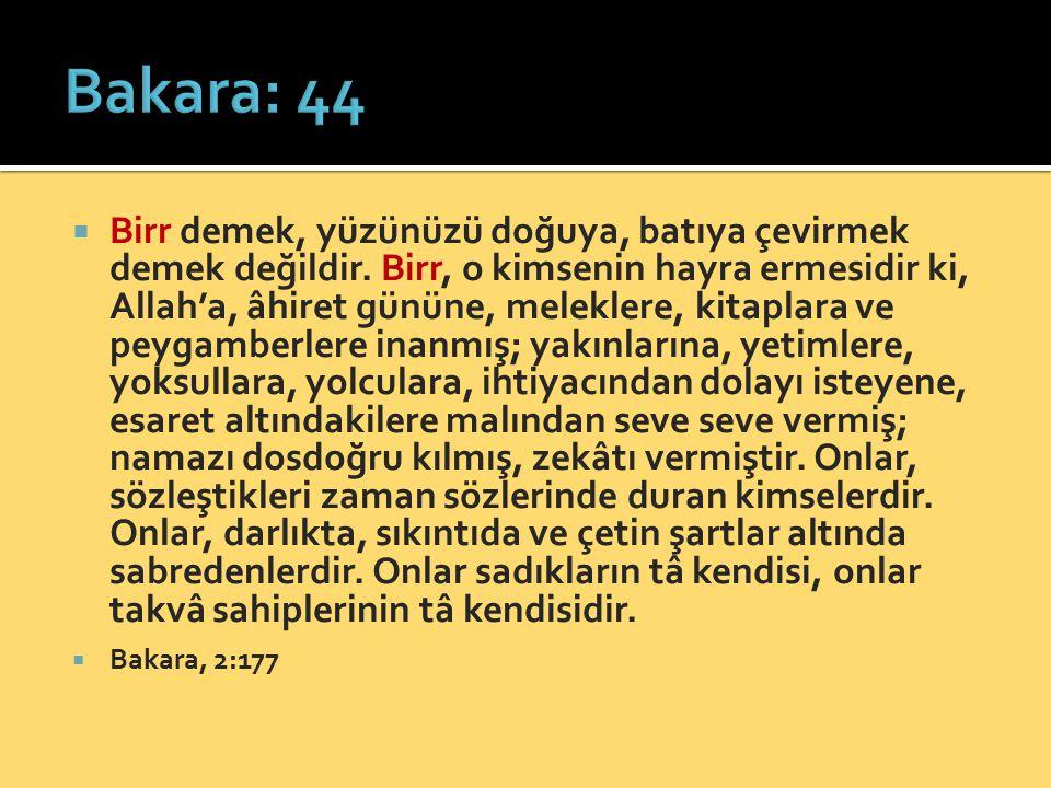 Bakara: 44