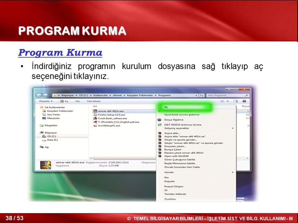 PROGRAM KURMA Program Kurma