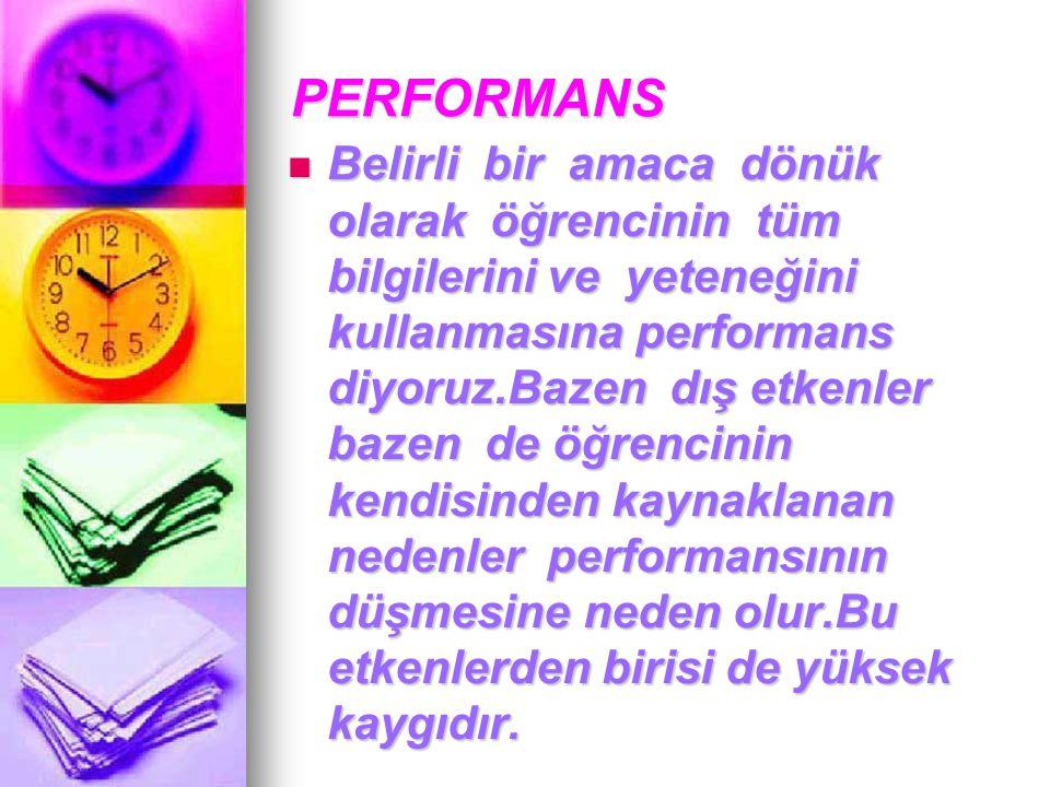 PERFORMANS