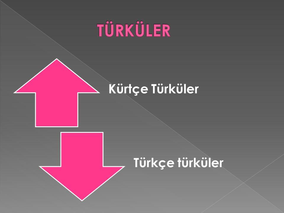 TÜRKÜLER Kürtçe Türküler Türkçe türküler
