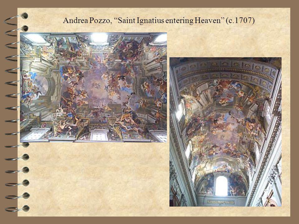 Andrea Pozzo, Saint Ignatius entering Heaven (c.1707)