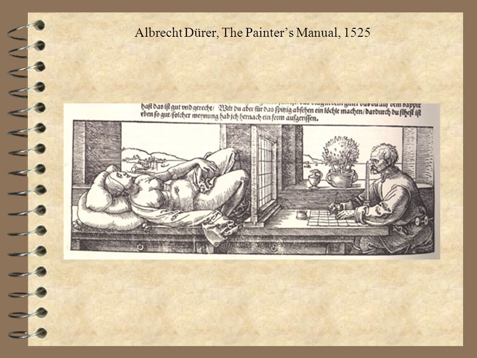 Albrecht Dürer, The Painter's Manual, 1525