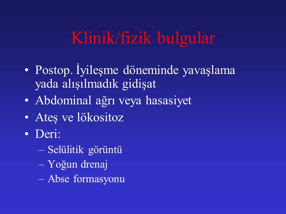 Klinik/fizik bulgular