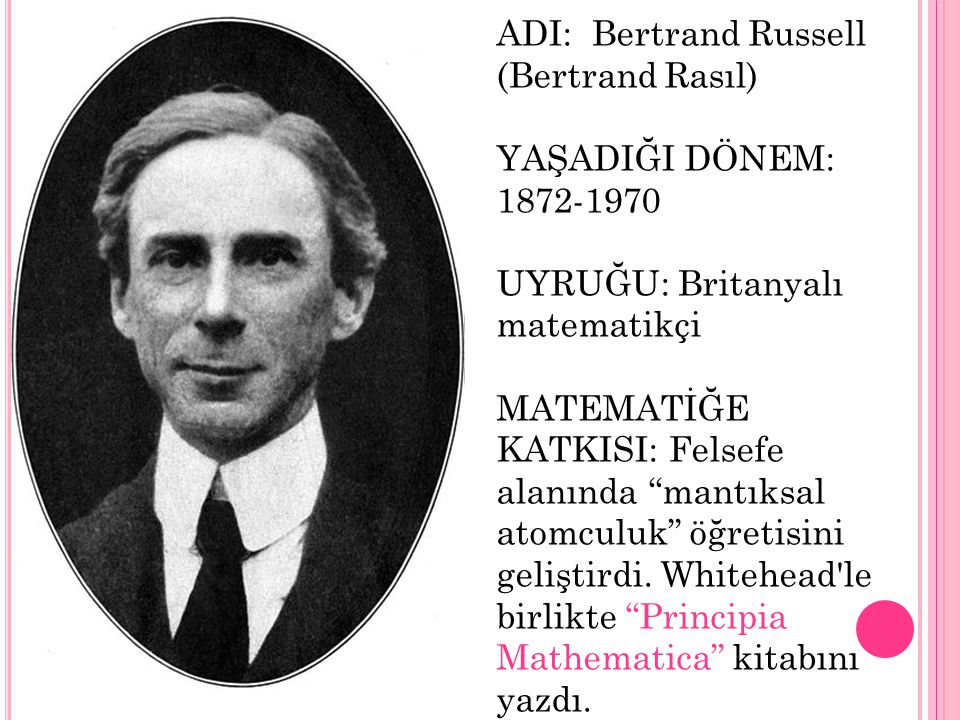 ADI: Bertrand Russell (Bertrand Rasıl)