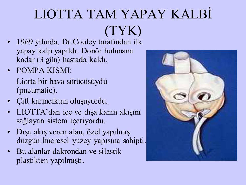 LIOTTA TAM YAPAY KALBİ (TYK)