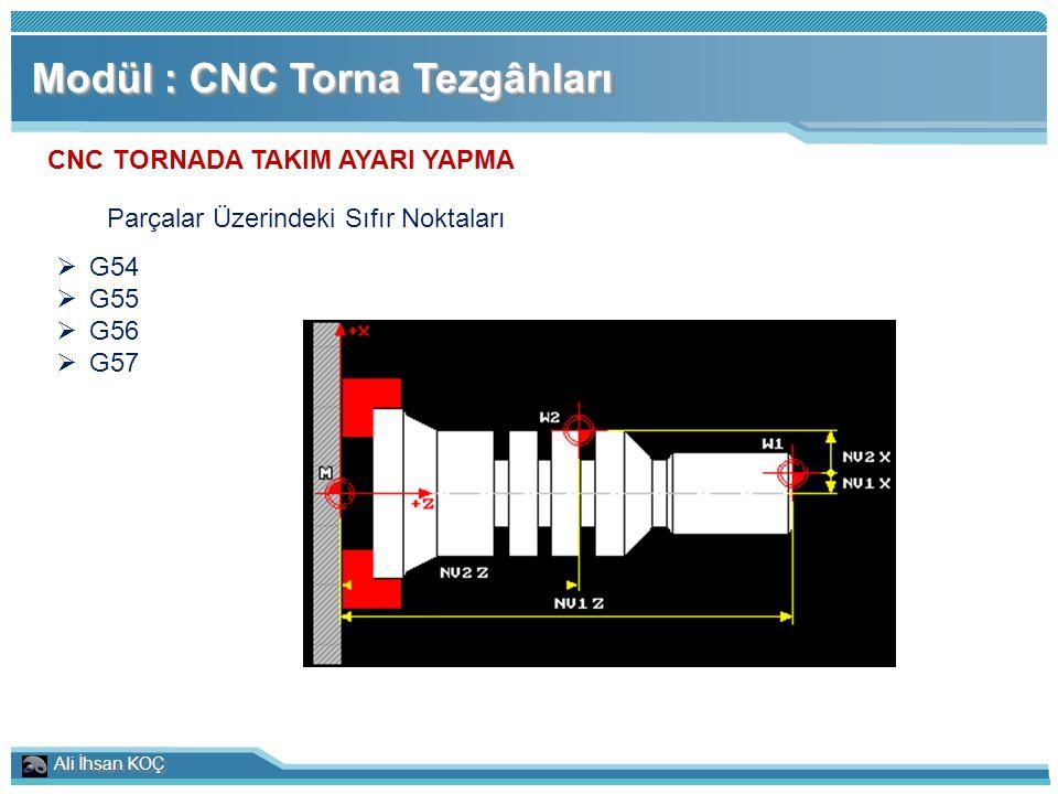 CNC TORNADA TAKIM AYARI YAPMA