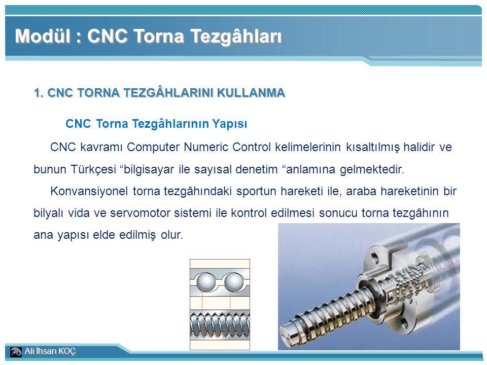 CNC Torna Tezgâhlarının Yapısı