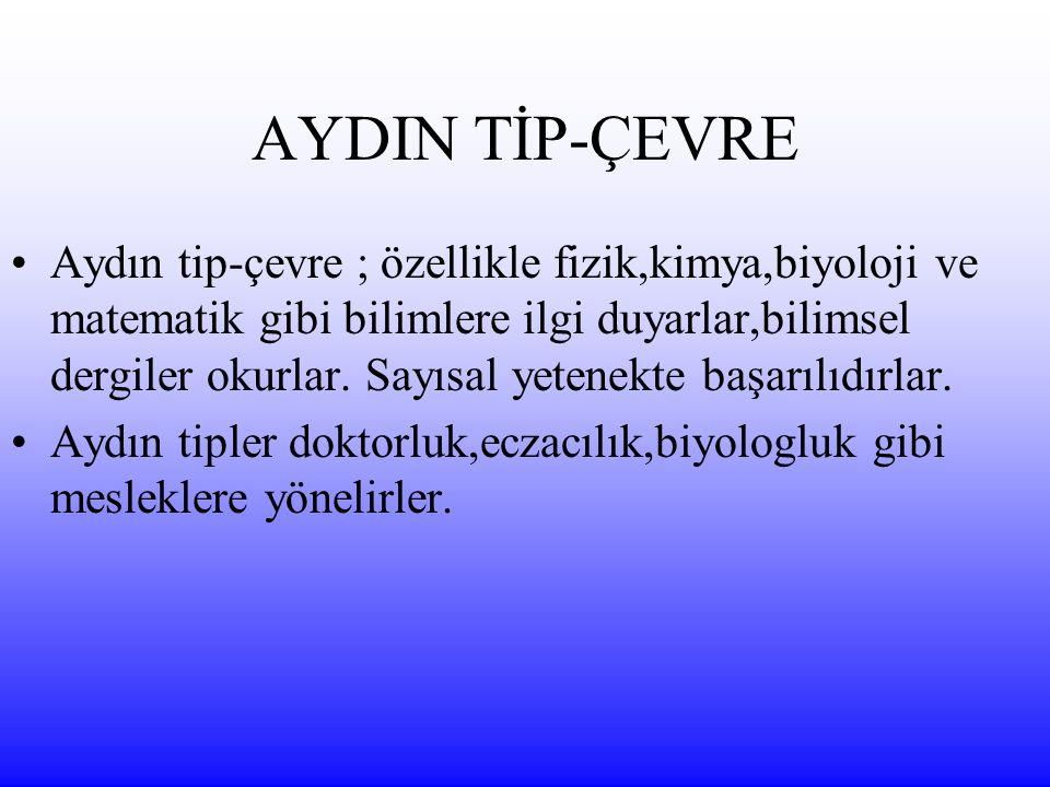 AYDIN TİP-ÇEVRE