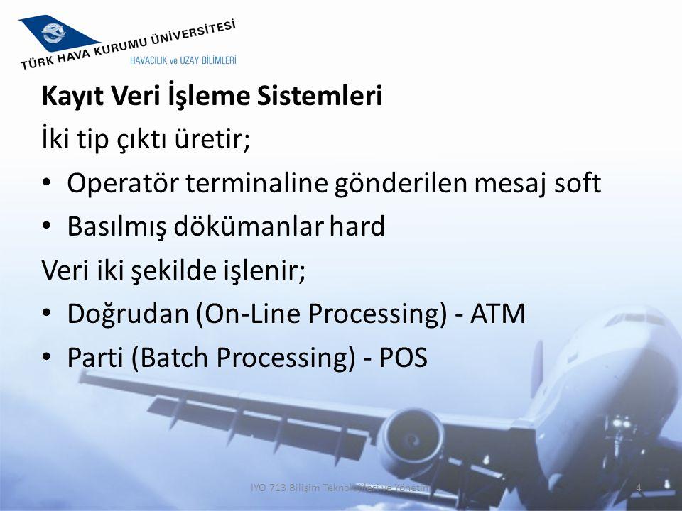 IYO 713 Bilişim Teknolojileri ve Yönetim