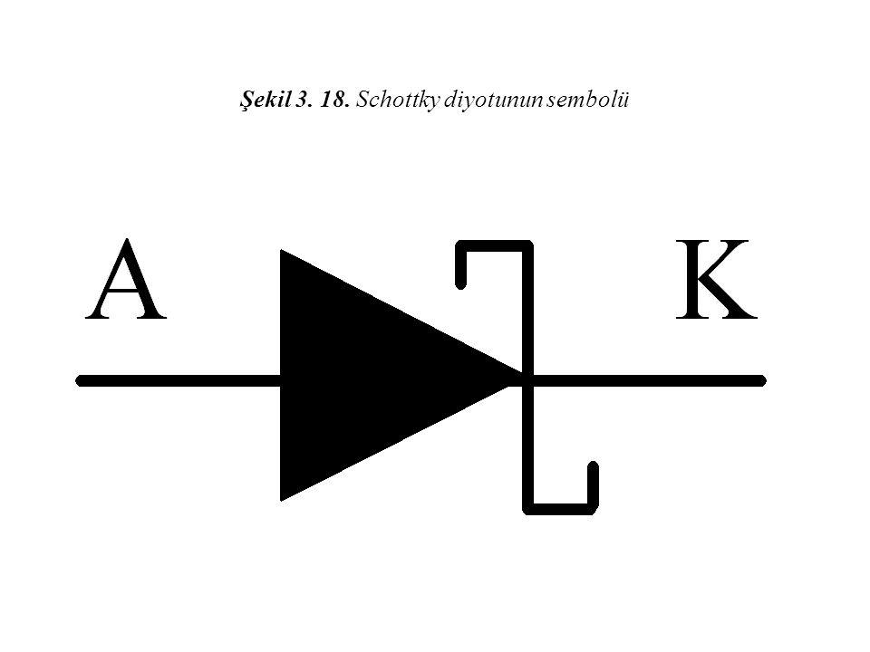 Şekil 3. 18. Schottky diyotunun sembolü