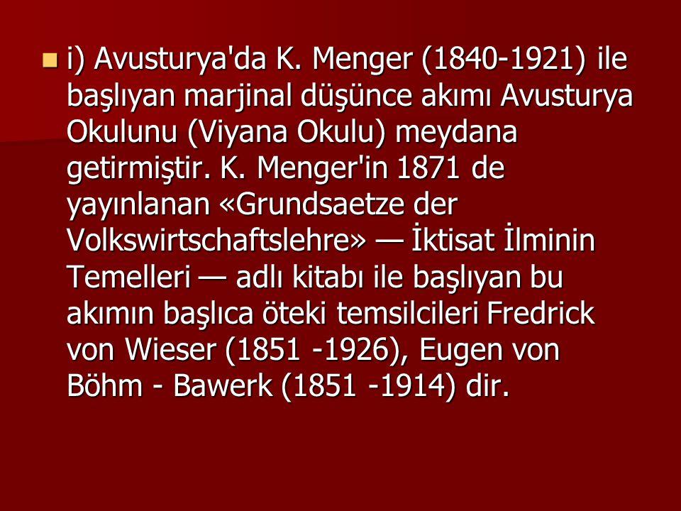 i) Avusturya da K.