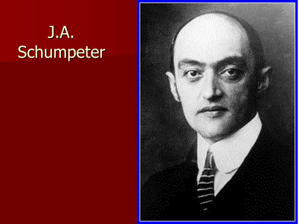 J.A. Schumpeter