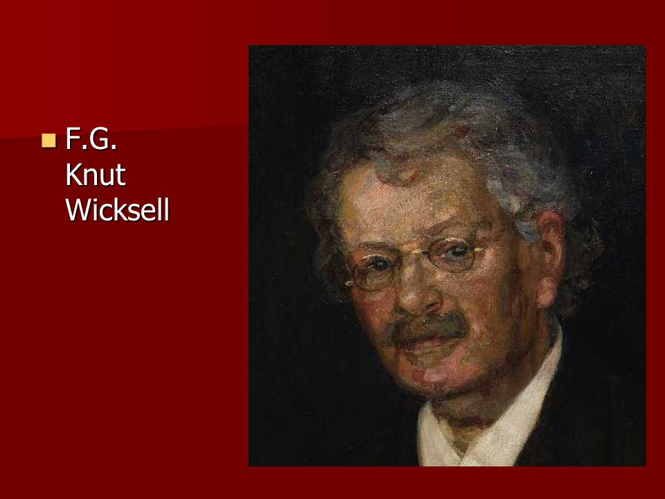 F.G. Knut Wicksell