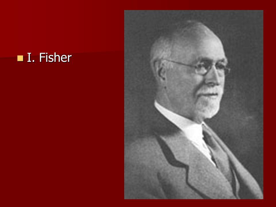 I. Fisher
