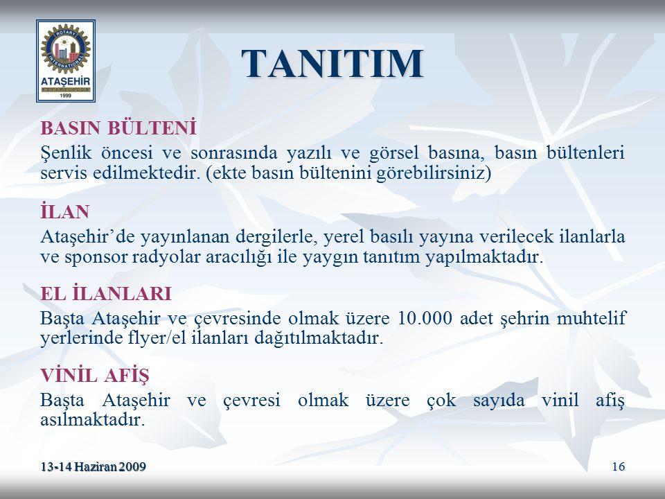 TANITIM BASIN BÜLTENİ.