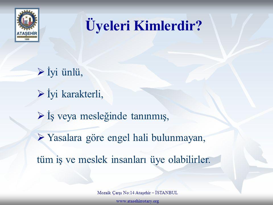 Mozaik Çarşı No:14 Ataşehir – İSTANBUL