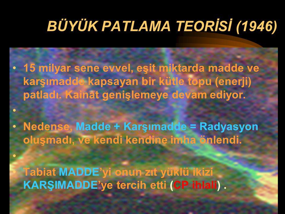 BÜYÜK PATLAMA TEORİSİ (1946)