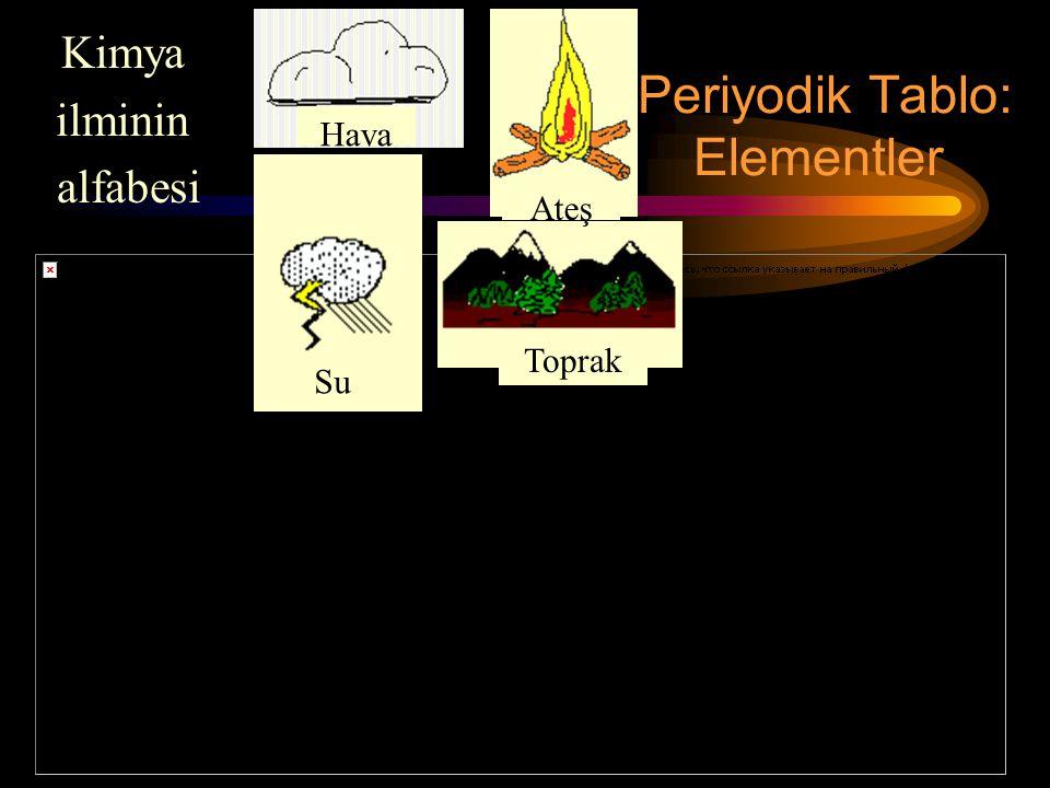 Periyodik Tablo: Elementler