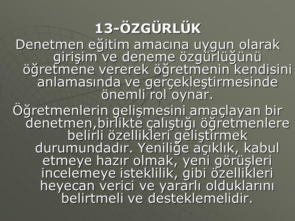 13-ÖZGÜRLÜK