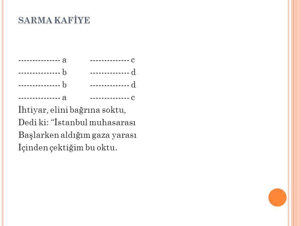 SARMA KAFİYE