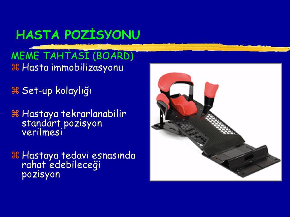 HASTA POZİSYONU MEME TAHTASI (BOARD) Hasta immobilizasyonu