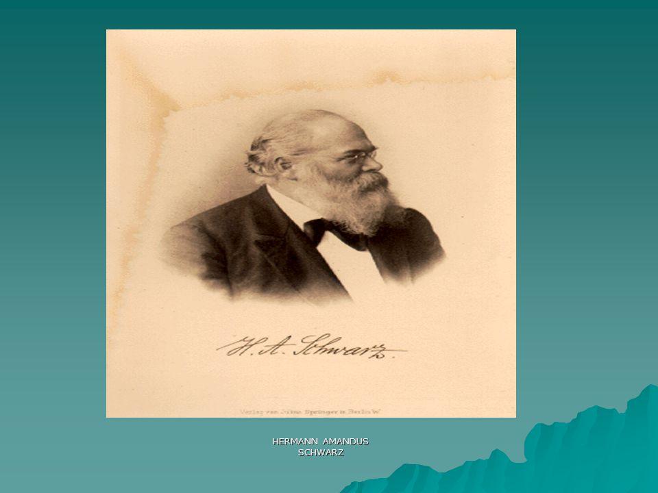 HERMANN AMANDUS SCHWARZ