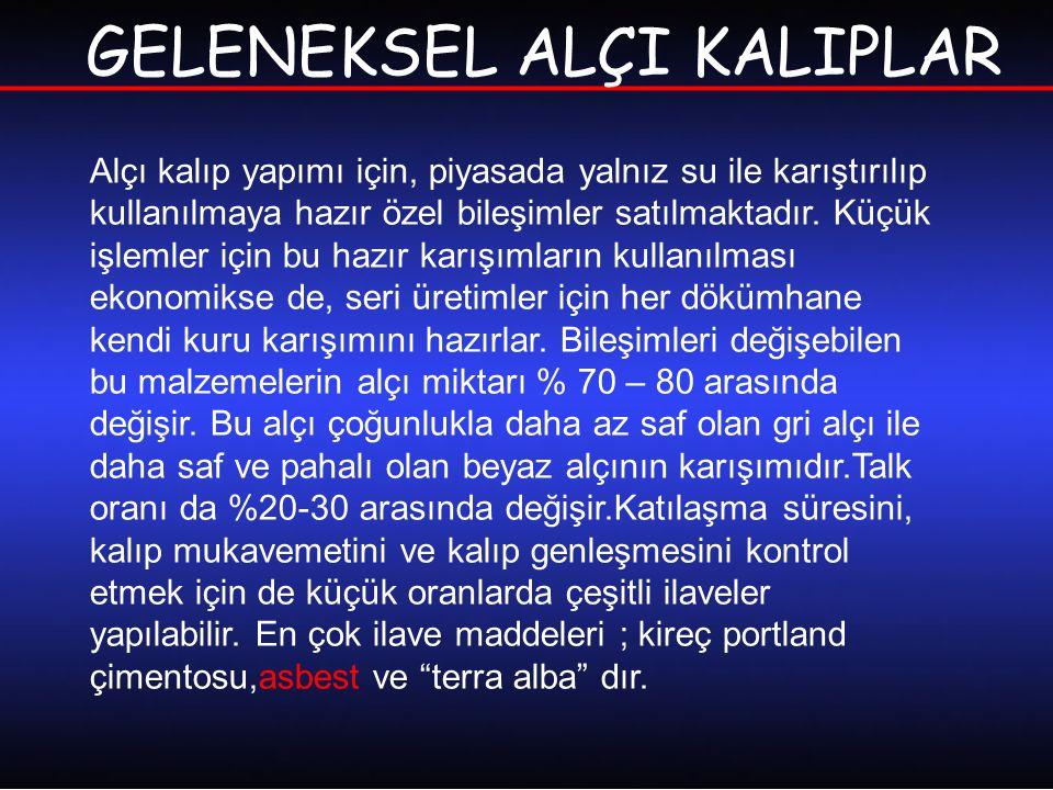 GELENEKSEL ALÇI KALIPLAR