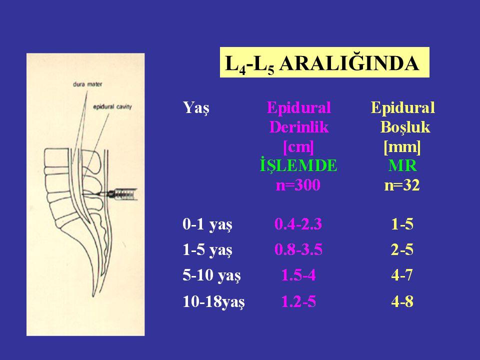 L4-L5 ARALIĞINDA