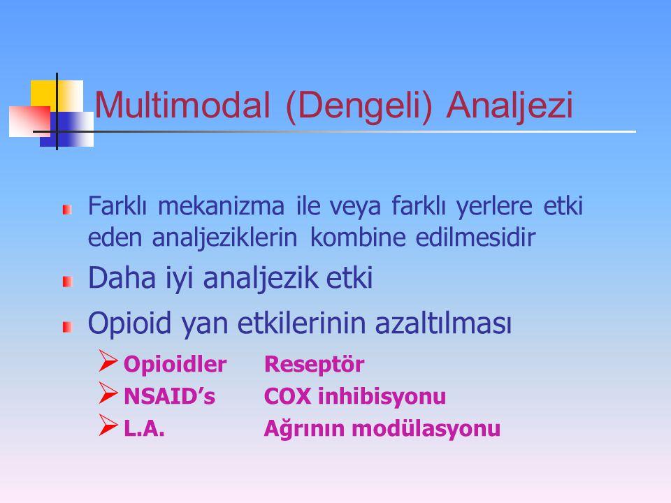 Multimodal (Dengeli) Analjezi