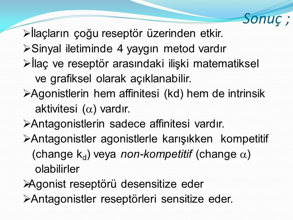 Sonuç ; Sinyal iletiminde 4 yaygın metod vardır