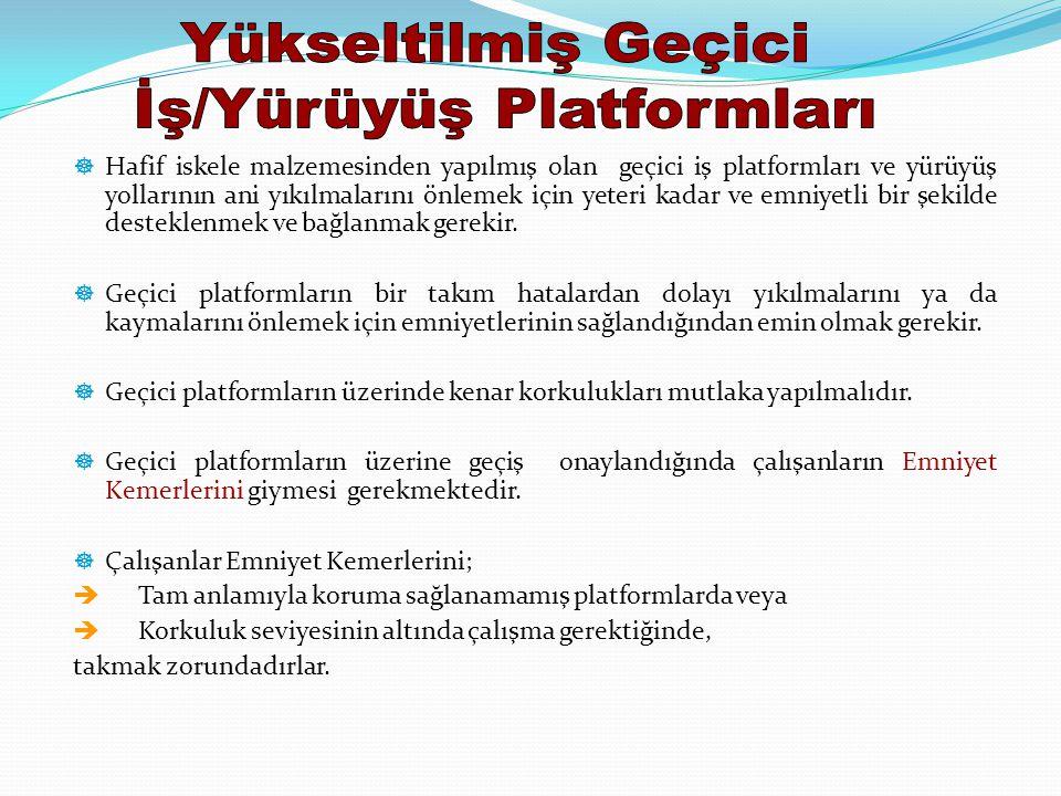 İş/Yürüyüş Platformları