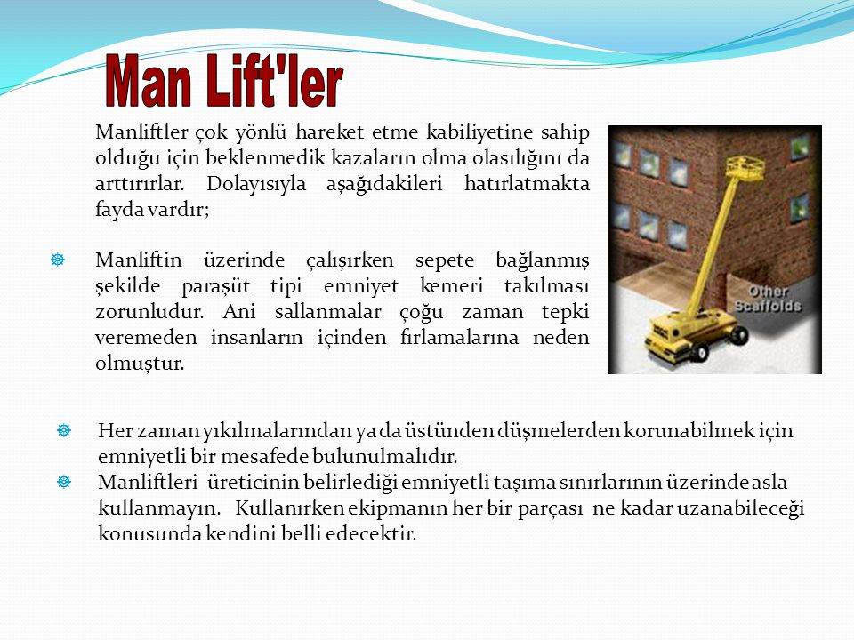 Man Lift ler