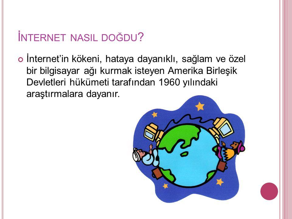İnternet nasil doğdu