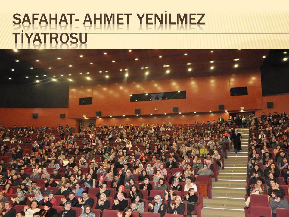 SAFAHAT- AHMET YENİLMEZ TİYATROSU