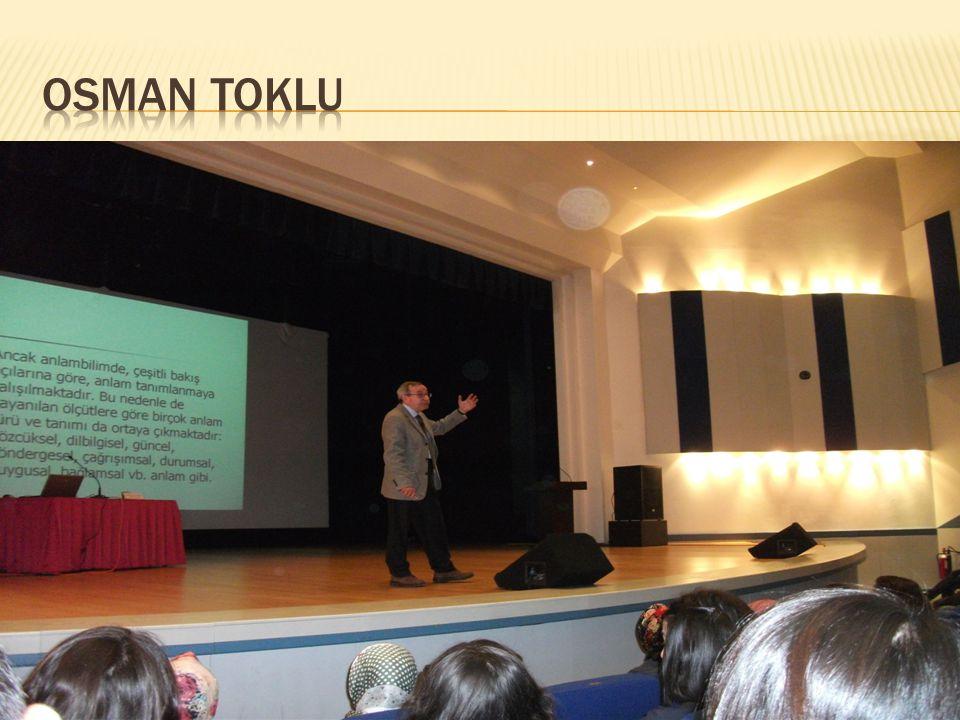 OSMAN TOKLU