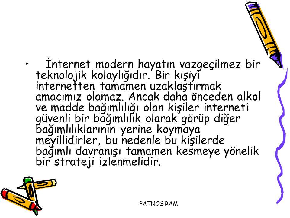 İnternet modern hayatın vazgeçilmez bir teknolojik kolaylığıdır